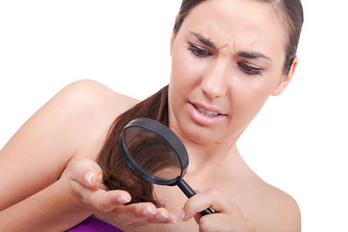Heal damaged hair